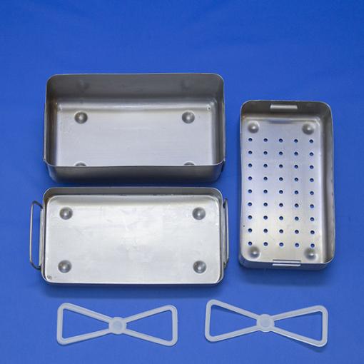 Кипятильник (стерилизатор) огневой П-22-1 0,75 л. 230*130*65 мм. 1,4 кг, 0,75 л.
